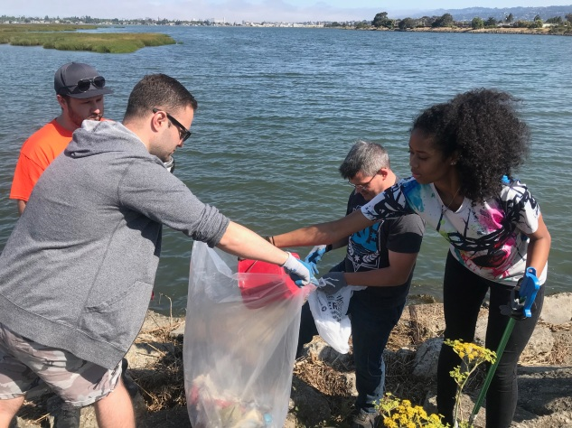 Knighted Ventures - MLK Jr Shoreline Clean-up2