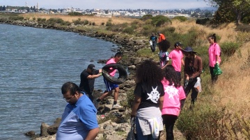 Knighted Ventures - MLK Jr Shoreline Clean-up7