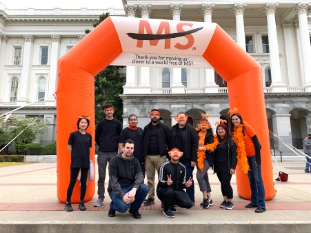 Walk MS Sac Team